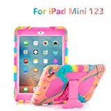 ACEGUARDER Kids Case for iPad Mini 1 2 3 - Built-in Light Weight