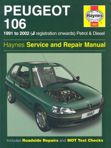 Peugeot 106 Service and Repair Manual (Haynes Service and Repair Manuals, Band 1882)