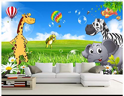 ZAMLE Benutzerdefinierte 3D Fototapete 3D Wandbilder Wallpaper Schöne Landschaft Tapete Kinderzimmer Cartoon Tier Wandbilder Tapeten, 430X300 Cm (169,3 By 118,1 In)