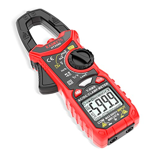 KAIWEETS Digital Clamp Meter T-RMS 6000 Counts,...