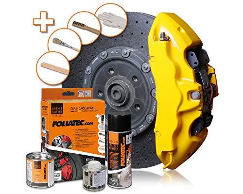 Foliatec - Kit peinture étriers de freins - Jaune (gelb), Ref: 2161