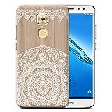 Stuff4 Coque de Coque pour Huawei G9 Plus/Mandala Bambou Design/Bois Dentelle Fine Collection
