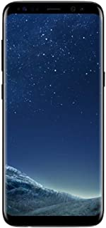 Samsung Galaxy S8 (64GB) G950U 5.8in 4G LTE Unlocked (GSM + CDMA, US WARRANTY) (Midnight Black) (Renewed)