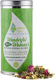 ~Wonderful Woman's~ Nourishing Hormonal Balancing, Caffeine Free, Herbal Tea - Up to 60 Cups of Tea Per Tin