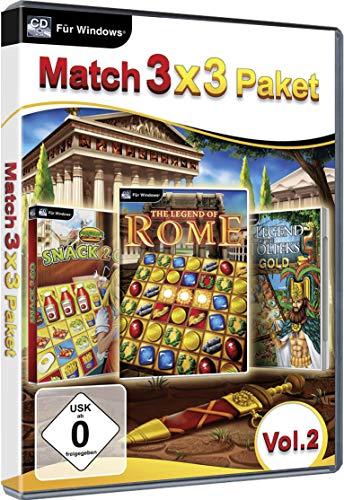 3 Gewinnt Paket Vol. 2 Match PC Game Windows 10 / 8.1 / 7 / Vista