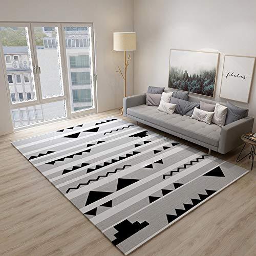 QWEASDZX Alfombra Alfombra Creativa para Sala De Estar, Alfombra Antideslizante para Dormitorio, Alfombra para Niños, Fácil De Limpiar 80x120cm