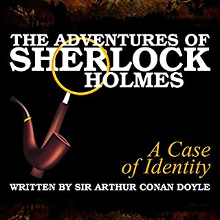 The Adventures of Sherlock Holmes: A Case of Identity audiobook cover art