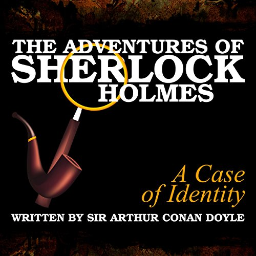 The Adventures of Sherlock Holmes: A Case of Identity cover art
