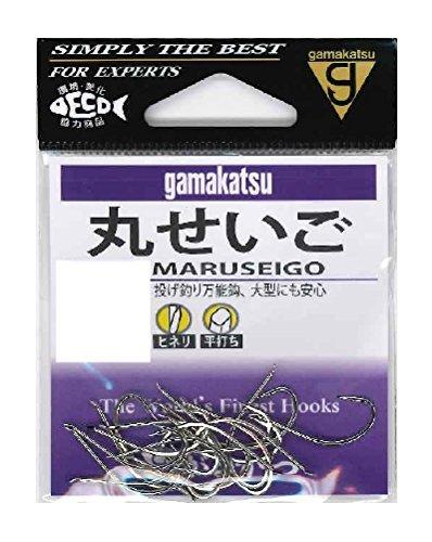 がまかつ(Gamakatsu) 丸セイゴ フック 白 14号 釣り針