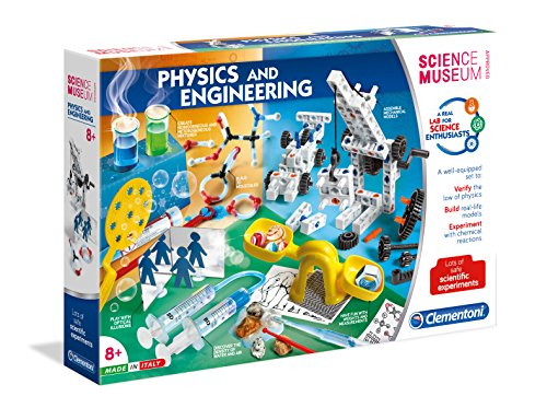 Clementoni Science Museum| Physics & Engineering Lab| STEM Learning Kit