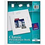 AVERY Classic Presentation Book, Clear Front...