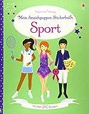 Mein Anziehpuppen-Stickerbuch: Sport: Mit 250 Stickern