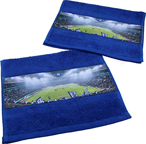 FC Schalke 04 Gästetuch 2er-Set