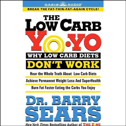The Low Carb Yo-Yo  audiobook cover art