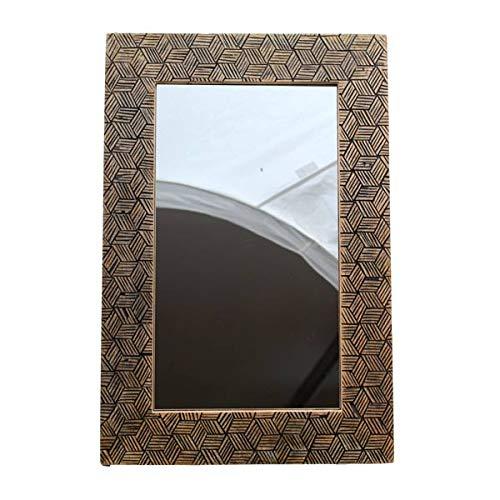 Gall&Zick Wandspiegel, Flurspiegel, Garderobenspiegel, Spiegel, Mangoholz