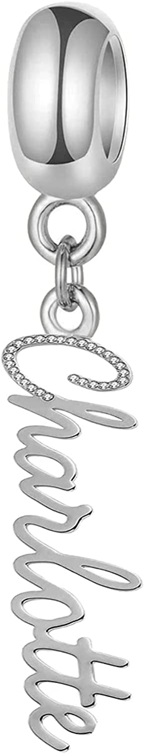 Persoanlized Name San Antonio Mall Charm Fit for Bracelet with Ranking TOP13 Pandora Synthetic