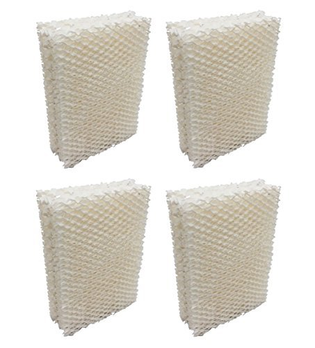 Ximoon 4 Pack Humidifier Filter Wick for Emerson HDC411