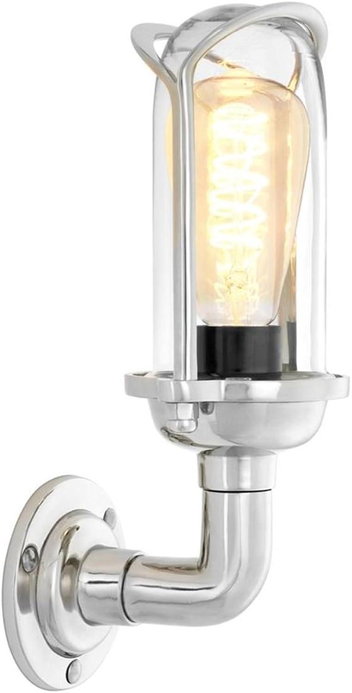 Casa Padrino Luxus Luxus Luxus Wandleuchte Silber 13 x 14 x H. 31 cm - Designer Wandlampe B074FS1LC2 | Verschiedene aktuelle Designs  f66008