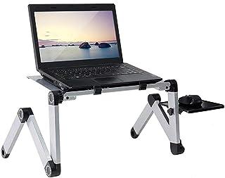 Adjustable Laptop Stand Desk,Ergonomics Laptop Stand, Portable Folding 360° Rotating for Home Office Bed Reading Bracket (...