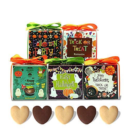 ハロウィン お菓子 プチギフト『ハロウィン パ ーティー キューブCC クッキー』大量 個包装 業務用 結婚式 子供 HZW-HPC00 (200個セット)