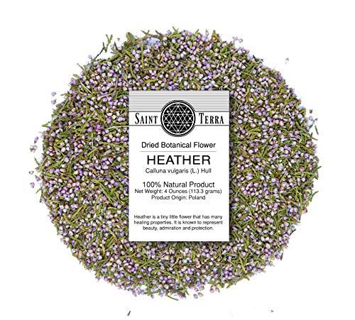 Saint Terra Dried Heather Flowers, 4 Ounces