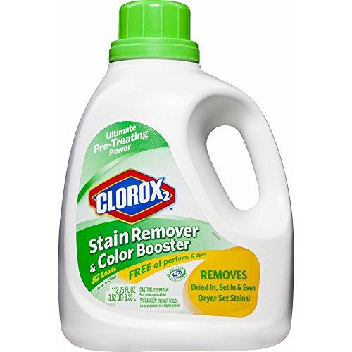 Clorox 2 Liquid Stain Remover & Color Booster Free & Clear,112.75 oz.