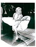 Marilyn Monroe 8 X 10 Photo Display Autograph on Glossy Photo Paper