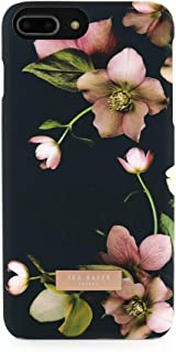 Ted Baker AW18 Fashion Soft Feel Hard Shell for iPhone 8 Plus / 7 Plus, Protective Cover for Professional Women/Girls - MYMA - Arboretum