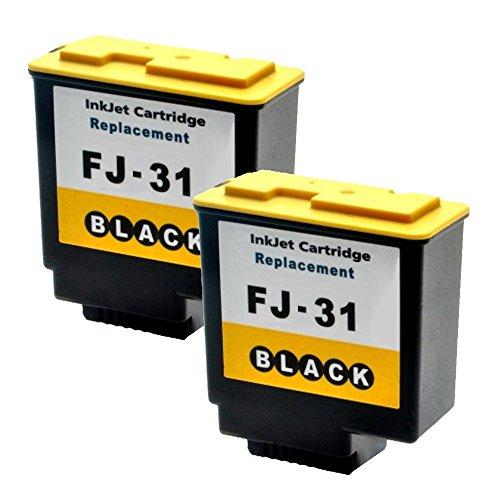 2 Druckerpatronen Tinte für Olivetti Fax Lab 145D Fax Lab 450 Fax Lab 100 ersetzen FJ-31 B0336