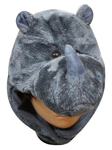 Petitebelle Halloween-Kostüm Tiere Hut Unisex-Kleidung Freie Größe Einheitsgröße Nashorn