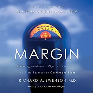Margin audiobook cover art