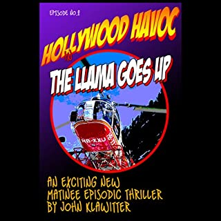 The Llama Goes Up audiobook cover art