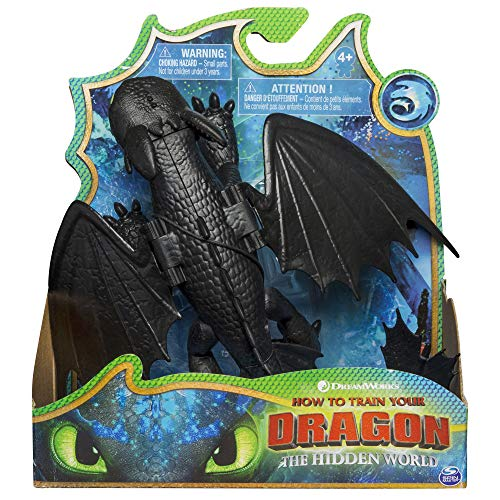 Bizak- Dragons Dragon Articulado Deluxe Toothless, Multicolor (61926548)