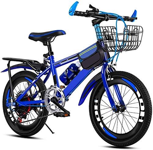HFFFHA Bicicletas for niños de 20 Pulgadas, una Moto a los niños, Moto Bici for niños de 8 años de Edad, Estilo de Moto Boy de la Muchacha de los niños Niños Niño Bicicleta de la Bici (Color : C)