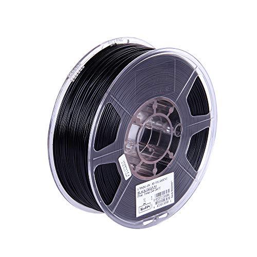 Aibecy eSUN ePC 1.75mm Filament 1kg(2.2lb) Spool Consumables Black Polycarbonate Material Refills for 3D Printers