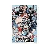 QWFS Póster de Anime My Hero Academia Colección de Personajes en Lienzo y Arte de la Pared Impresión Moderna para Dormitorio Familiar Pósters 30 x 45 cm