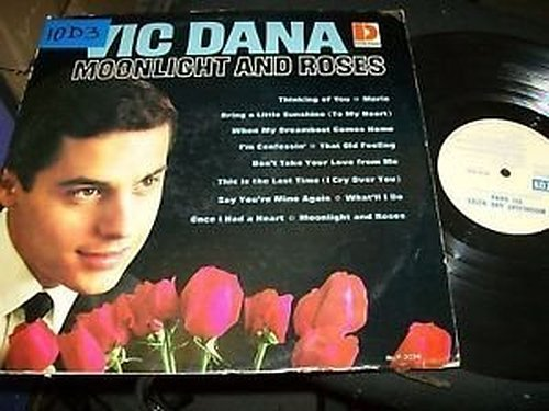 Moonlight & Roses LP Vinyl Record -  Vic Dana