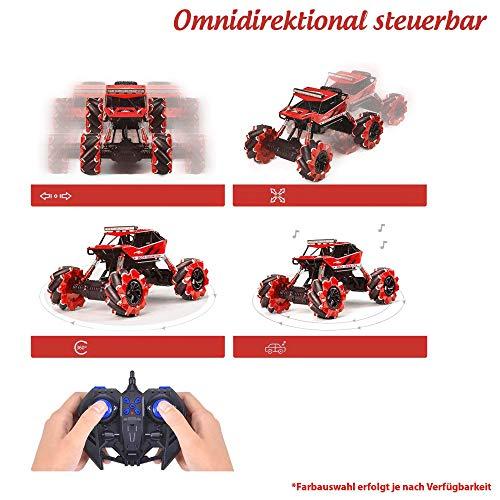 RC Auto kaufen Monstertruck Bild 5: Ferngesteuertes Auto RC Auto,2.4GHz Ferngesteuertes Monstertruck,High Speed RC-Auto mit wiederaufladbaren Batterie*