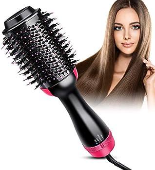 Bongtai Hot Air Brush Hair Dryer & Volumizer 3 in 1 Brush Blow Dryer