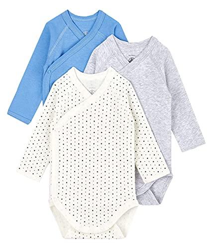 Petit Bateau A002d00 Abbigliamento Intimo, Multicolore, 3 Mesi Bimbo