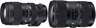 Sigma 50 100mm F1,8 DC HSM Art Objektiv (82mm Filtergewinde) für Nikon Objektivbajonett & Sigma 18 35mm F1,8 DC HSM Art Objektiv (72mm Filtergewinde) für Nikon Objektivbajonett