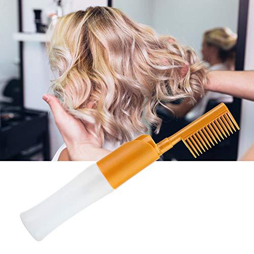 Peine de peluquería, peine para peinar el cabello, uso de viaje de resistencia para uso en salón, uso en el hogar, salón de belleza(Baked oil brush)
