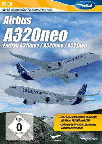 Flight Simulator X - A320 NEO (Add - On) - [PC]