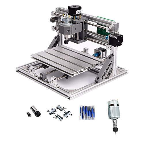 CNC 2418grabado máquina de grabado PCB fresadora madera Router zona de trabajo 240x 180