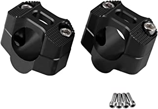 31.25mm SMT- Motorcycle 1.25 Handlebar Riser Clamp Compatible with Hole Diameter P//N: MT030-008-1.25 Most Harley Cruisers Choppers Victory cruisers