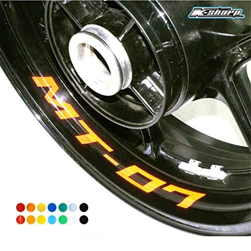 psler Motorrad Innere Felgenaufkleber Reifenaufkleber Für Yamaha MT-07