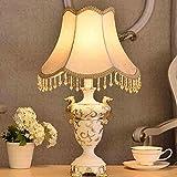 LXGANG Lampada da tavolo Lampade da tavolo, di personalità semplice continentale Lampada da comodino, lampada da letto, dopo il francese moderno e minimalista di illuminazione della lettura luce di no