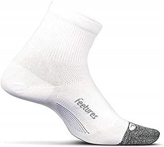 Elite Ultra Light - Calcetines Deportivos Cortos para Hombre y Mujer - Color Blanco - Talla L