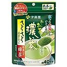 伊藤園 おーいお茶 濃い茶 抹茶入り さらさら緑茶 (チャック付き袋タイプ) 32g