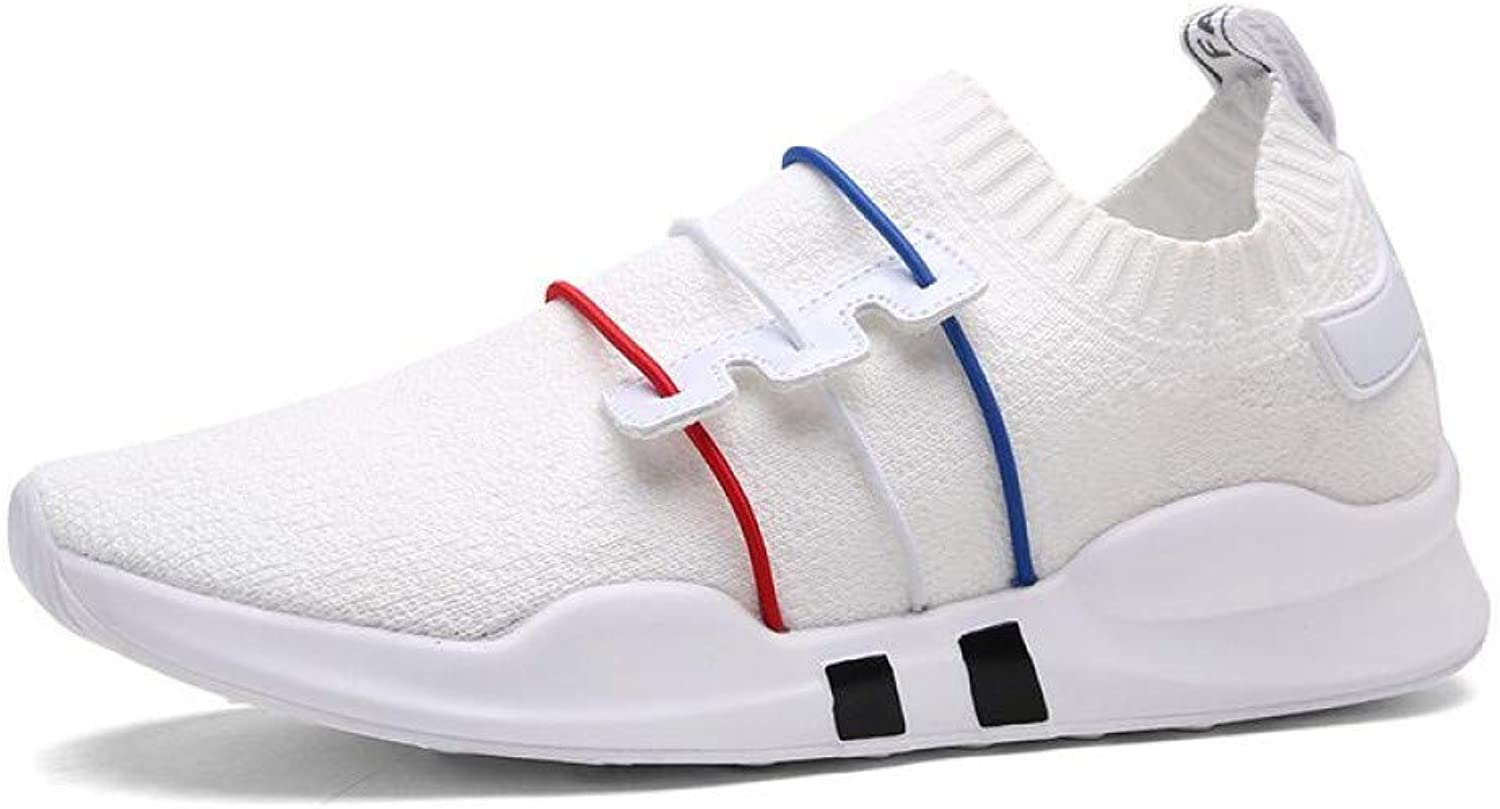 WDDGPZYDX Sports shoes Men Casual shoes Mesh 36-44 Black White Red Luxury Sneakers Fashion Men shoes Summer Breathable Trainers
